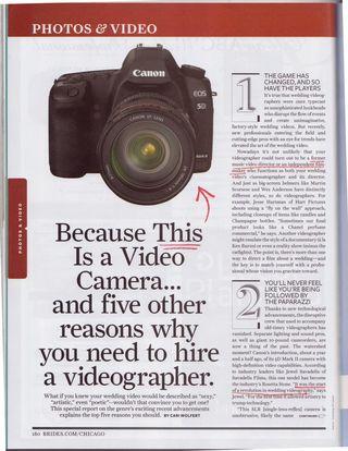 Canon 5D DSLR 2010