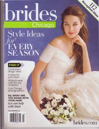 Brides Mag Cover 2010